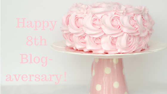 Eighth year of bloggin!